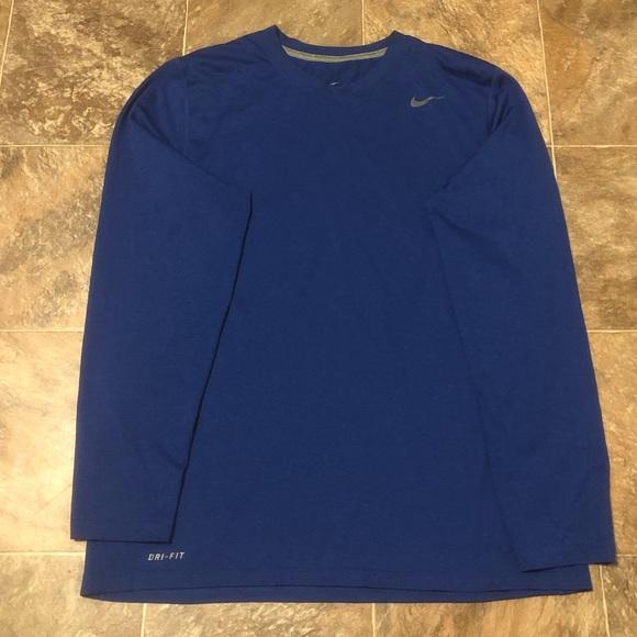 d0801aed Nike Shirts | Mens Drifit Long Sleeve Shirt | Poshmark